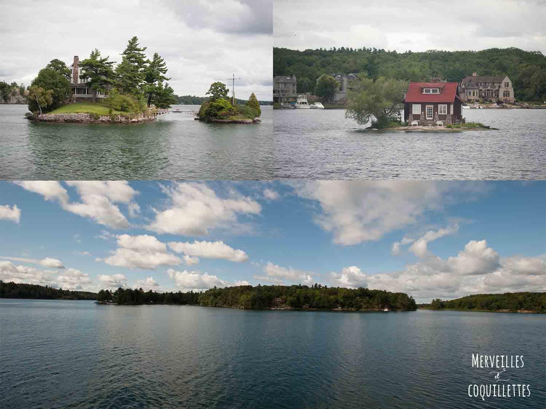 Milles îles à Kingston au canada -source : Merveilles et coquillettes