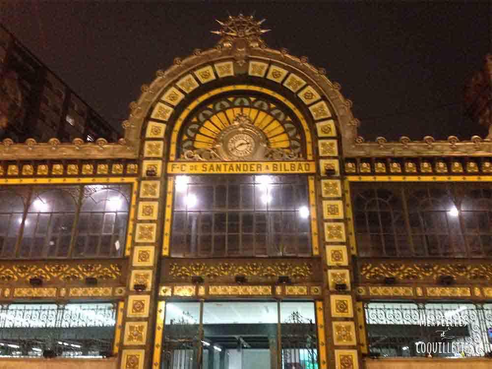 Gare concordia à bilbao - City guide de merveilles et coquillettes