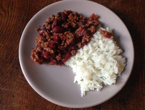 Chili con Carne prêt à déguster