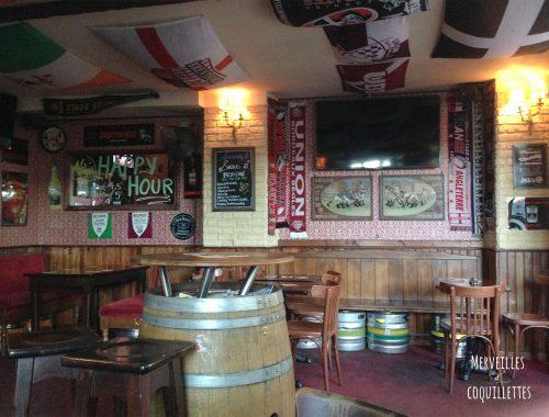 Salle du Sweeney Toad, pub à Bordeaux