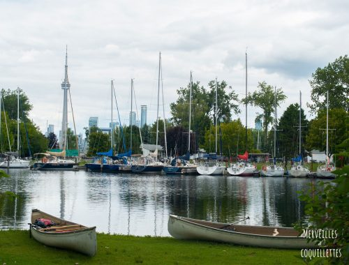 Toronto au Canada -source : Merveilles et coquillettes